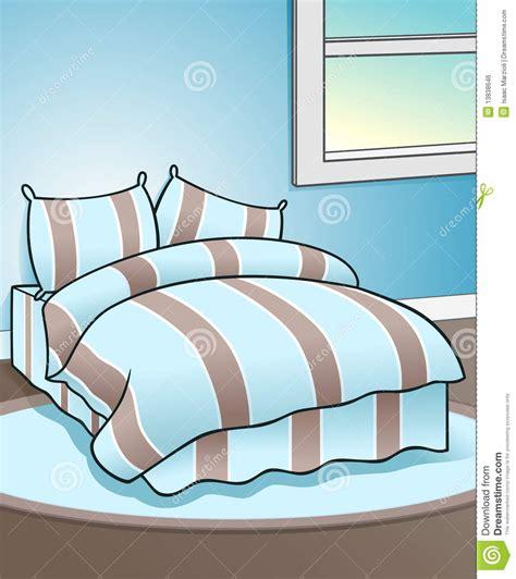 schlafzimmer clipart blauer schlafzimmer hintergrund lizenzfreies stockbild