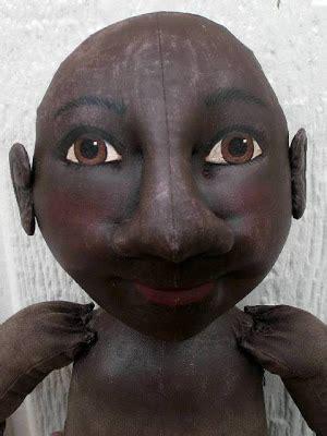 black doll 2008 dollshoppe primitives collectibles september 2008