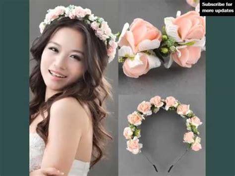Wedding Hair With Band by Flower Hair Band Wedding Decorative Pics Flower Hair