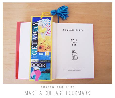 Bookmark This by Crafts For Make A Collage Bookmark Playful Learning