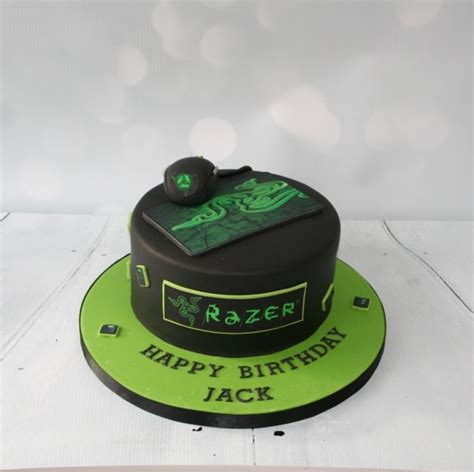 Razer computer cake