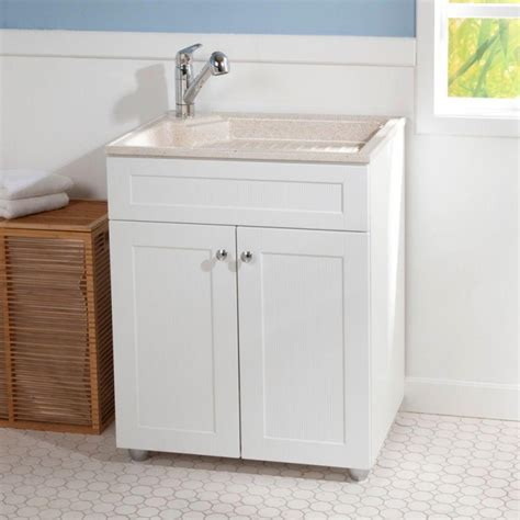 utility tub with cabinet laundry room utility sink cabinet bee home plan home decoration ideas