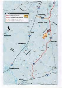 toll road 130 map 497 976 acres caldwell county sh 130 toll road ranch