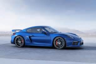 Porsche Gt4s New Porsche Cayman Gt4 Hits The Track