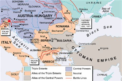 one map europe map during world war 1 quotes