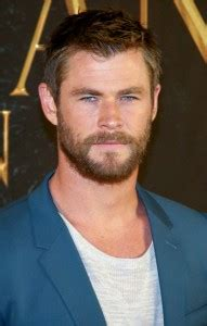 chris hemsworth hairstyles and beard styles