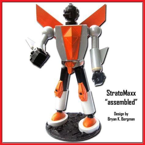 kaiju kaos robot stratomaxx by acheson creations kickstarter