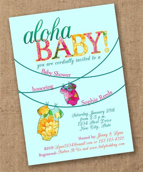 Baby Showers Hawaii by 25 Best Ideas About Hawaiian Baby Showers On