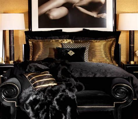 black and gold bedroom ideas style code interior design inspiration the new ralph