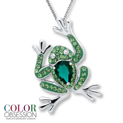 color obsession kay color obsession necklace swarovski elements sterling silver
