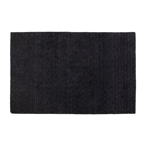 black rug hotel 6 x 9 rug modern black area rug dot