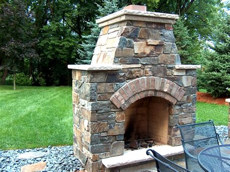 Masonry Outdoor Fireplace by Outdoor Fireplaces And Outdoor Patios Masonry By Merlin
