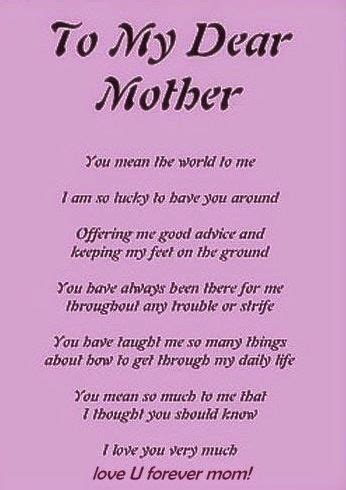 a s day poem 25 best ideas about happy mothers day poems on