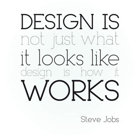 design is how it works steve jobs march 2011