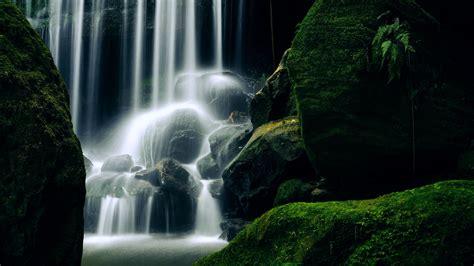 wallpaper waterfall   wallpaper  zealand travel
