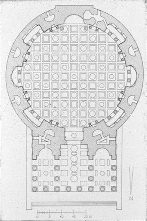 pantheon floor plan roman architecture 2 at university of california santa