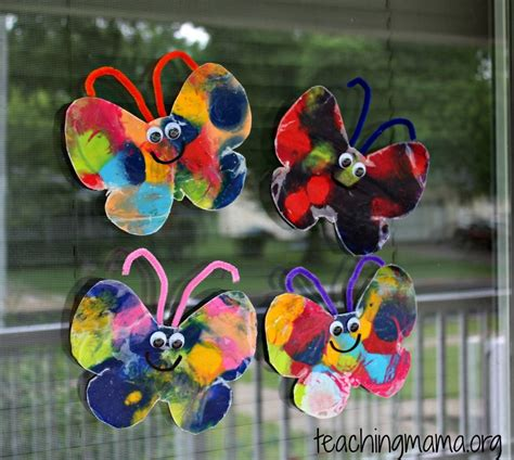 Butterfly Papercraft - 8 insect crafts for