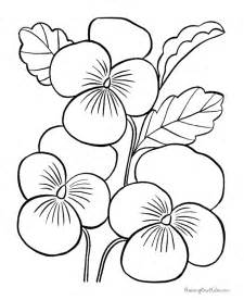 printable flower coloring pages pictures and ideas flower images to color