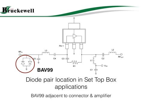 bav99 esd diode bav99 switching diode applciation