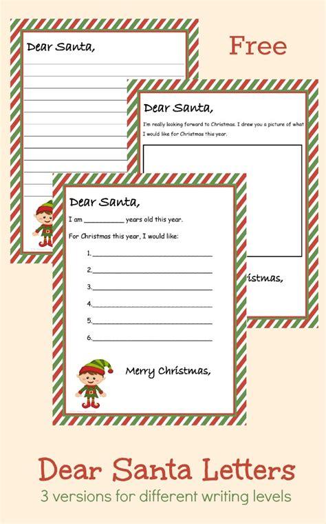 write a christmas list to santa