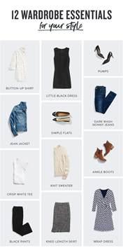 12 wardrobe essentials for every flawlessend