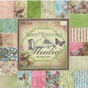 """12"""" x 12"""" 80 sheets kirby teesdale studio paper pack"""