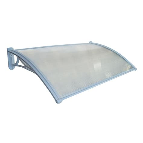 Plastic Canopy Altamonte 1200 X 700mm Chicago Clear Fluted Canopy With
