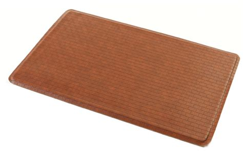 Gel Floor Mats by Gel Easy Kitchen Gel Floor Mat Chestnut As Seen On Tv