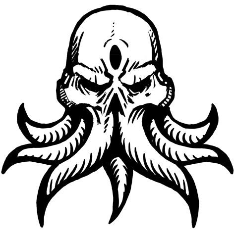 Cthulhu Coloring Book Printable Coloring Pages Cthulhu Coloring Pages
