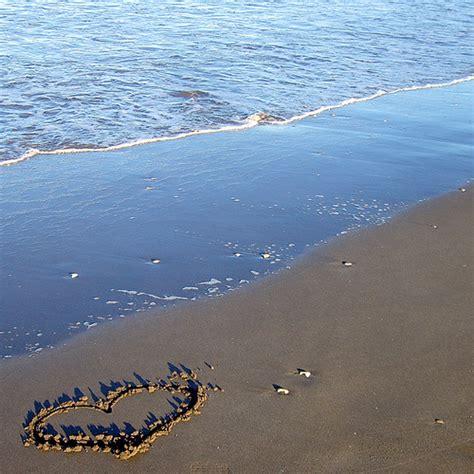 imagenes de corazones en la playa fotos de corazones foroamor com