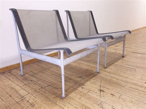 Low Patio Chairs Original Vintage Richard Schultz Pair Of Low Lounge Chairs Patio Outdoor Garden At 1stdibs