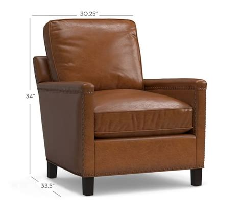 pottery barn leather armchair tyler leather armchair pottery barn