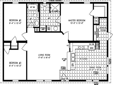 House Plans 1000 Sq Ft Or Less by House Floor Plans 1000 Sq Ft Simple Floor Plans Open