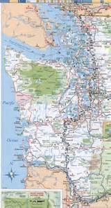 Washington State Highway Map by Similiar Washington State Road Map Keywords