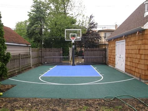 Backyard Cout Ideas Backyard Basketball Court Ideas Marceladick