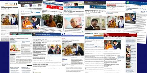 How The Media Covered The A Middle Way To Freedom Tibetan Magazine For Tibet News Issues