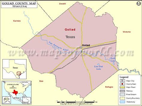 goliad texas map goliad county map texas