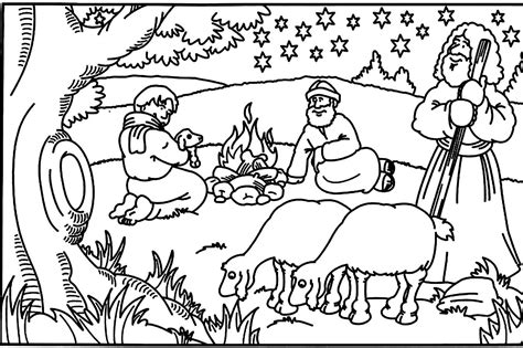 Children Bible Stories Coloring Pages Coloring Home