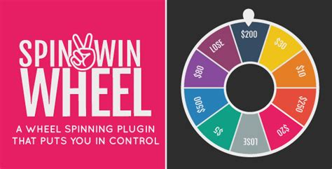 Spin2win Wheel Spin It 2 Win It By Chrisgannon Codecanyon Html5 Spinning Wheel