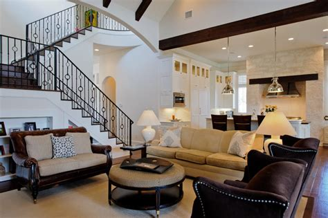 Kelle Contine Interior Design Living Room Contemporary Living Room Austin By