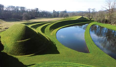 Jlos Nursery Snakeskin And More Mound by Charles Jencks The Garden Of Cosmic Speculation