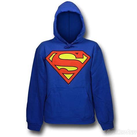 hoodie sweatre superman anak superman symbol royal hooded sweatshirt