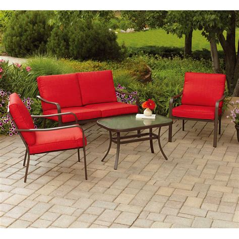 Outdoor Patio Furniture Sets Outdoor Patio Table Sets Lovely Mainstays Creek 5 Patio Dining Set Seats 4 Walmart