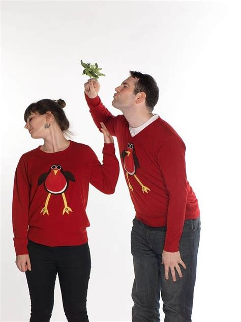 Matching Jumpers For Him And Matching Robin Jumpers Jumpers
