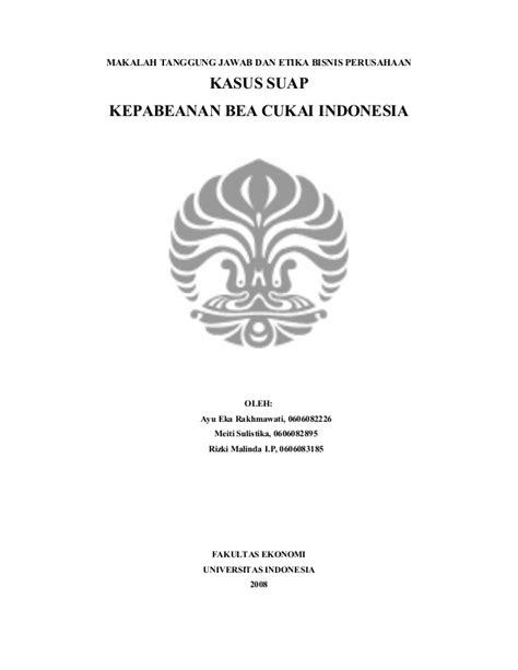 format makalah universitas indonesia makalah etika bisnis