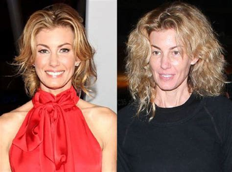 The Of Photoshop Faith Hill by Faith Hill From Without Makeup