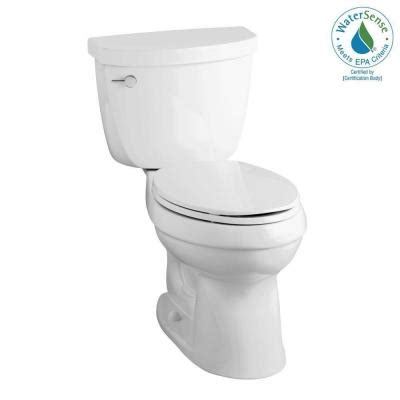 kohler cimarron 2 1 28 gpf high efficiency elongated