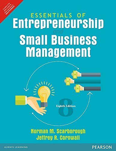 Essentials Of Entrepreneurship And Small Business Management ebook essentials of entrepreneurship and small business