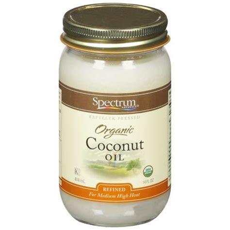 coconut oil spectrum naturals organic coconut oil 14 fl oz walmart com