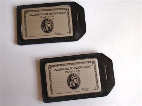 Combine American Express Gift Cards - vintage american express travel luggage tags set of 2